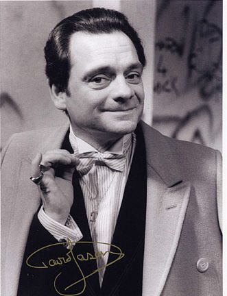 David Jason Personally Signed LARGE 16x12 inch Tie Photograph