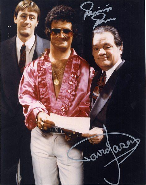 Sir David Jason & Philip Pope Personally Signed 10x8 Photo