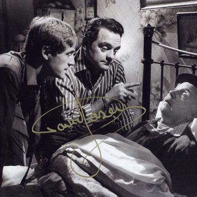 Sir David Jason Personally Signed Bed 10x8 inch Photograph