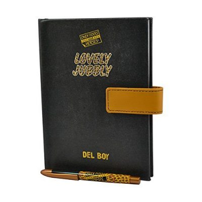 New Official Del Boys Little Black Book and Pen