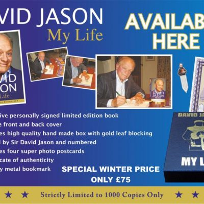 David Jason Exclusive Personally Signed Boxed Set Autobiography