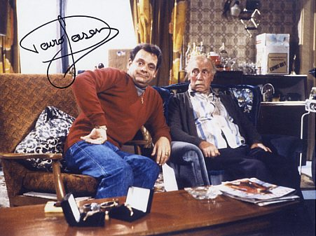Sir David Jason with Grandad Large Autographed 16x12 Photograph