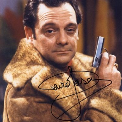 Sir David Jason Personally Signed 007 10x8 inch Photograph