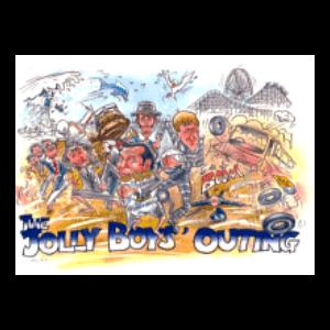 JOLLY BOYS OUTING COLOUR POSTER