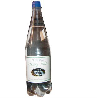 BOTTLE OF PECKHAM SPRING WATER
