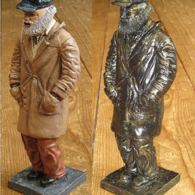 New Uncle Albert Original Hand Painted Resin Figure