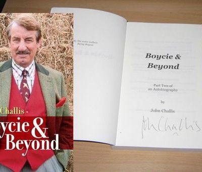 Boycie and Beyond- John Challis Autobiography Vol II- SIGNED COPY