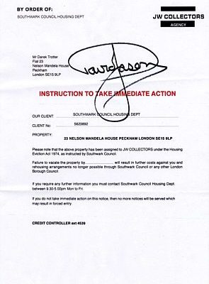 Original Prop - Personally Signed by David Jason