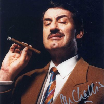 John Challis Boycie Cigar Fantastic Hand Signed 10x8 Photo