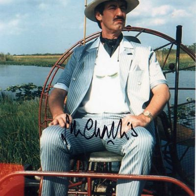 John Challis Boycie Miami Fantastic Hand Signed 10x8 Photo