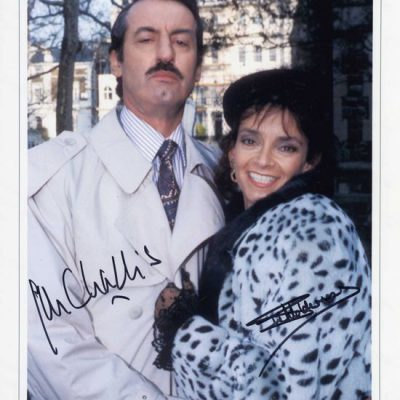 Boycie and Marlene in Fur Fantastic Hand Signed Large 16x12 Photo