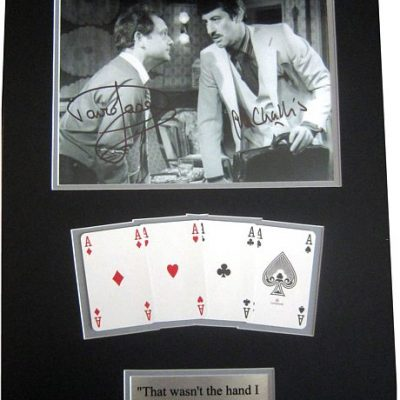 Double Personally Signed 'That Wasn't the Hand' Mount