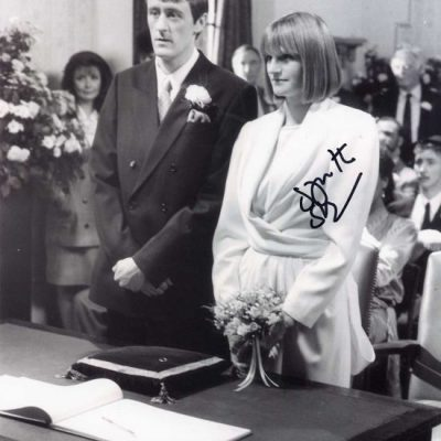 Gwyneth Strong Cassandra BW Fantastic Hand Signed 10x8 Photo