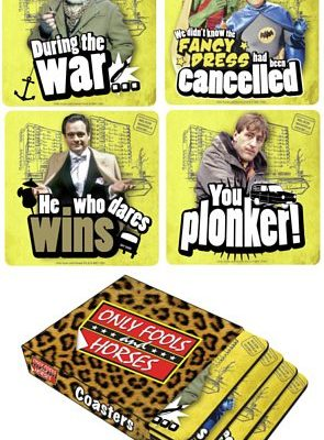 Only Fools and Horses Coasters 4 Pack (In Sleeve)