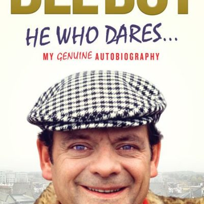 Del Boy He Who Dares Hard Back Book