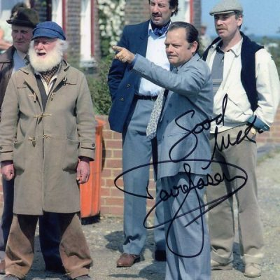 David Jason Margate Hand Signed 10x8 Photo