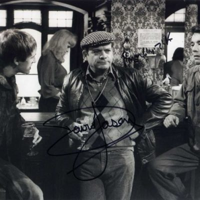 David Jason and Roger Lloyd Pack Double Signed 10x8 PB
