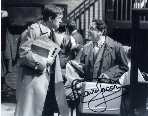 Sir David Jason Personally Signed 10x8 Photo Yuppy