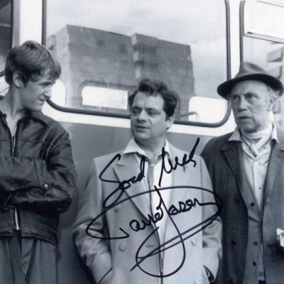 Sir David Jason Personally Signed 10x8 Photo Chingford