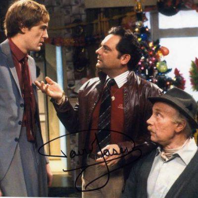 Sir David Jason Personally Signed 10x8 Photo Original Trio