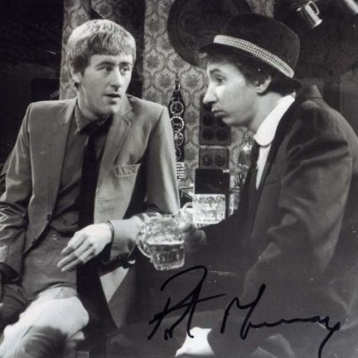 Patrick Murray 10x8 Signed Photograph BW