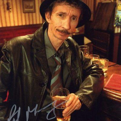 Patrick Murray 10x8 Signed Photograph Bar