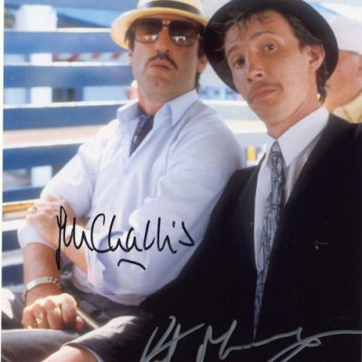 Boycie and Mickey Pearce Double Signed Margate 10x8