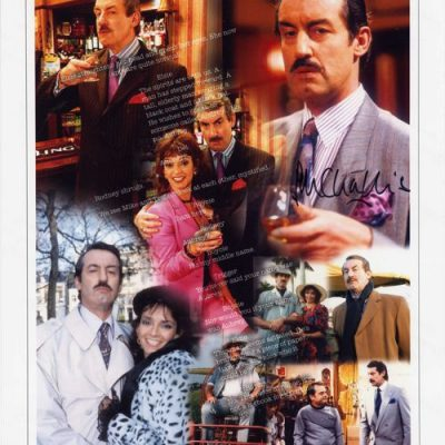 Boycie 'I am here' 16x12 Autographed Character Print