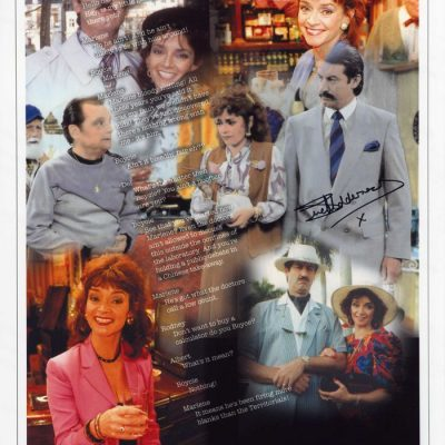 Marlene 'All the boys remember Marlene' 16x12 Autographed Character Print