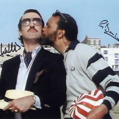 John Challis and Paul Barber Double Margate Hand Signed 10x8 Screen Photo
