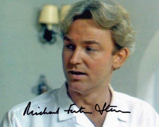 Michael Fenton Stevens Alan Hand Signed 10x8 Screen Photo