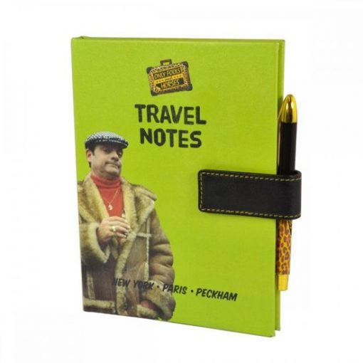 New Official Del Boys Travel Book and Pen - DISCOUNTED