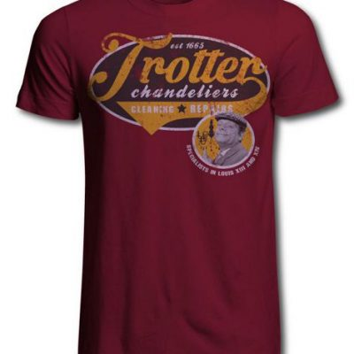 Only Fools and Horses Trotters Chandelier Cleaning Service Official T Shirt