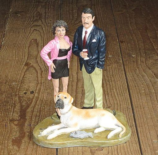 Boycie Marlene & Duke Resin Figures