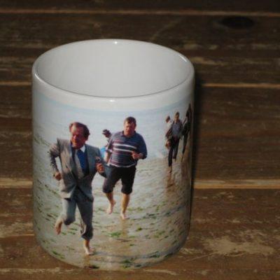 The Jolly Boys Outing Beach Mug