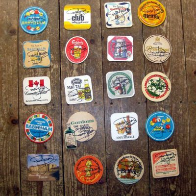 Original Screen Used Props - Various Beer Mats - Personally Signed by David Jason - Part of Tom Dillon Collection