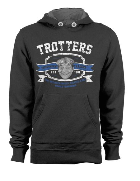 Only Fools and Horses Official Hoodie Trotters Traders Since 1981