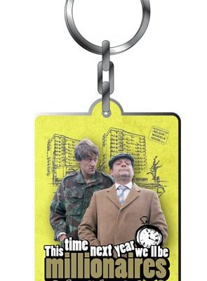 Metal Keyring - Only Fools & Horses (Millionaires)