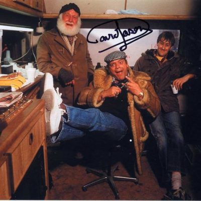 Sir David Jason Personally Signed 10x8 Photo Fing