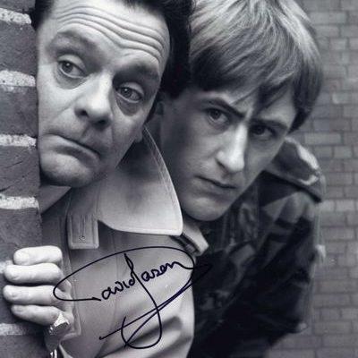David Jason Personally Signed LARGE 16x12 inch Photograph Wall