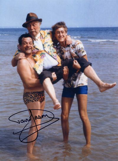 David Jason Personally Signed LARGE 16x12 inch Photograph Spain