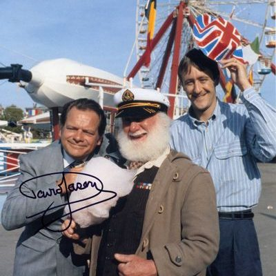 David Jason Personally Signed LARGE 16x12 inch Photograph Margate