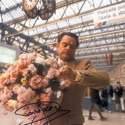 David Jason Personally Signed LARGE 16x12 inch Photograph Waterloo