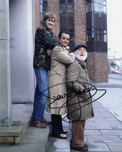 Sir David Jason Personally Signed 10x8 Photo Steps