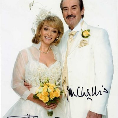 Boycie and Marlene in Wedding Fantastic Hand Signed 10x8 Photo