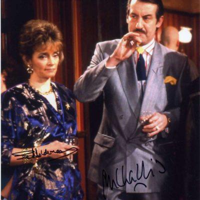Boycie and Marlene in Nags Head Fantastic Hand Signed 10x8 Photo