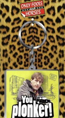 Metal Keyring - Only Fools & Horses (You Plonker Rodney)