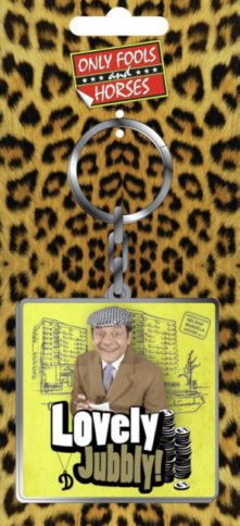 Metal Keyring - Only Fools & Horses (Lovely Jubbly)