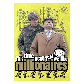 Metal Magnet - Only Fools & Horses (Millionaires)