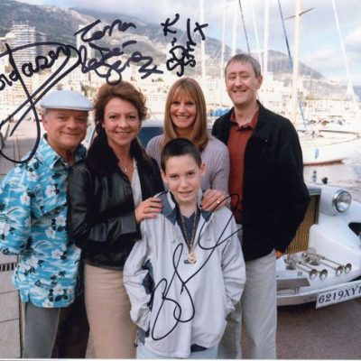 Trotter Family Personally Signed 10x8 Photograph